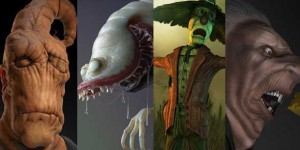 Horror-Scary-and-Monster-Character-Makings-in-Maya