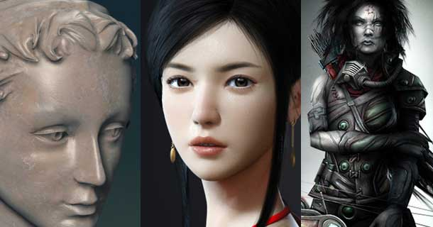 Photorealistic-Female-Character-Makings-in-Maya