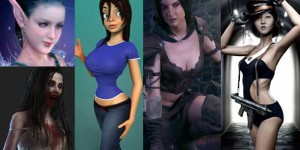 19 Female Stylized and Warrior Character Makings in 3DS Max