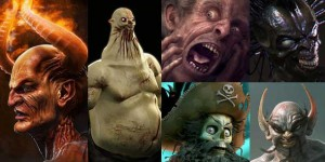 25 Horror, Scary and Monster Character Makings in 3DS Max