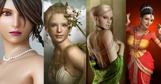 Photorealistic-Female-Character-Makings-in-3DS-Max