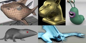 Simple-Creature-Modeling-Tutorials-in-3DS-Max