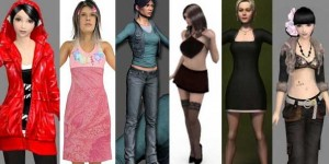 47 Free 3D Female Character Models