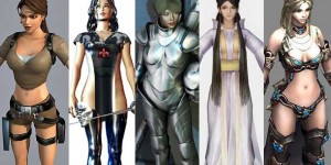 32 Free 3D Female Warrior Character Models