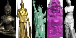 20 Free 3D Statue and Sculpture Models