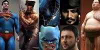 32 Superhero, Movies and Sports Characters in 3DS Max