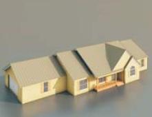 Dwellings free 3d model