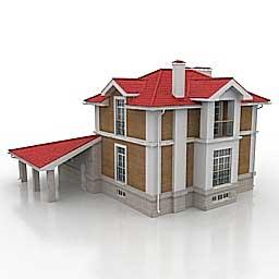 3d model houses