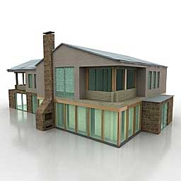 101 best free 3d house models rockthe3d House 3d model
