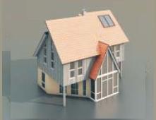Villas free 3d model