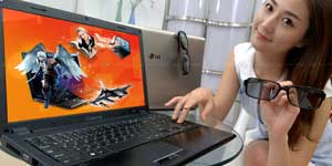 World's first near Full HD 3D Laptop
