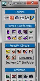 FX Floater - 3ds max script - RockThe3D