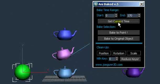 Ani Baked – 3ds max script - RockThe3D