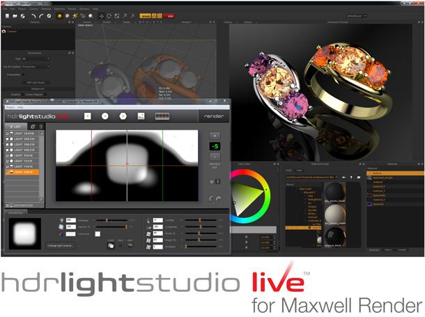 maxwell render support for hdr light studio live plugin rockthe3d. Black Bedroom Furniture Sets. Home Design Ideas
