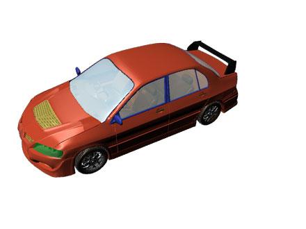 3d-car-model