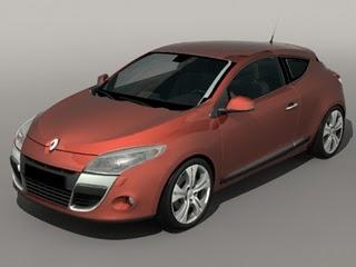 maya 3d model free download car renault megane iii