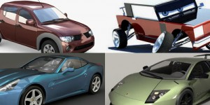 16 Free 3D Car Models in Maya