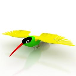 Parakeet-3D-Model