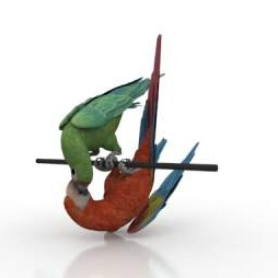 Parrot-Macaw-3D-Model