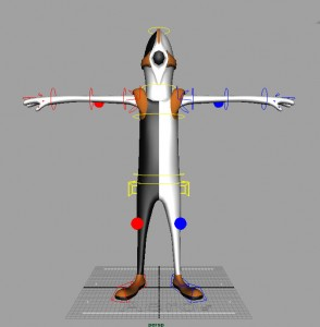 Aero free 3d rigged model 294x300 125 Free 3D Rigged Funny Cartoon Character Models