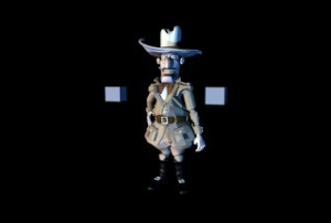 Hunter maya rig free 300x202 125 Free 3D Rigged Funny Cartoon Character Models