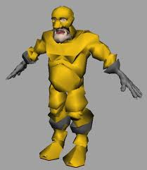 Super Gramps free 3d model rigged