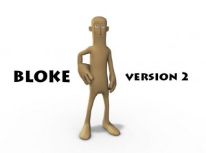 bloke free maya rigged model 300x224 125 Free 3D Rigged Funny Cartoon Character Models