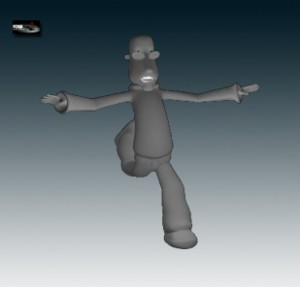 man 3d rigged model free