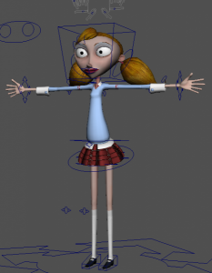 Briana_free_3d_rigged_model
