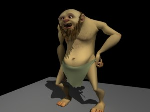 Caveman free 3d rigged model 300x224 125 Free 3D Rigged Funny Cartoon Character Models