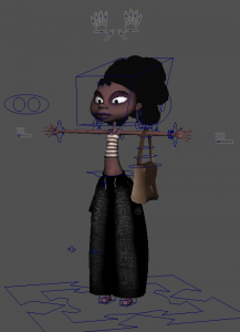 Julia_free_3d_rigged_model