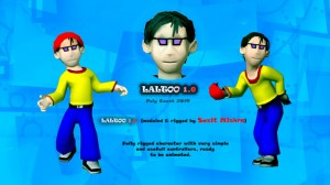 Laltoo free 3d rigged model 300x168 125 Free 3D Rigged Funny Cartoon Character Models