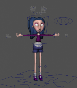 Lisa_free_3d_rigged_model