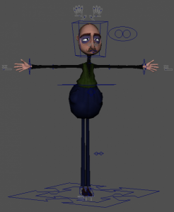 Profesor_free_3d_rigged_model