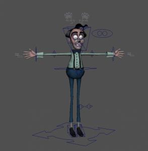 Ricardo_free_3d_rigged_model