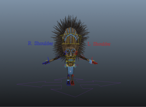 TribeWarrior_free_3d_rigged_model