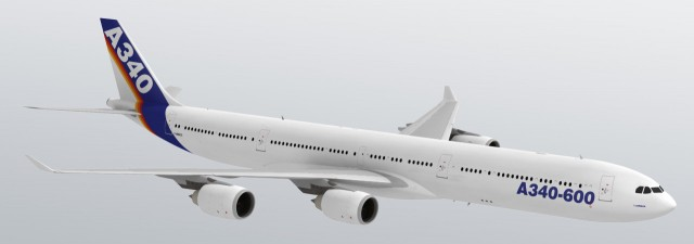 3D Airbus A340-600