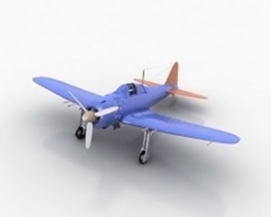 3D Classic Airplane