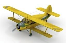 Airplane AN-2 N200314