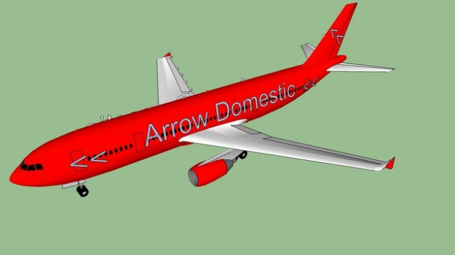 Arrow Airlines Domestic Airbus A300-620