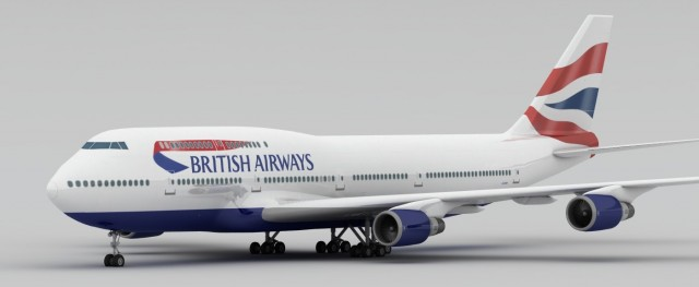 Boeing 747 British Airways