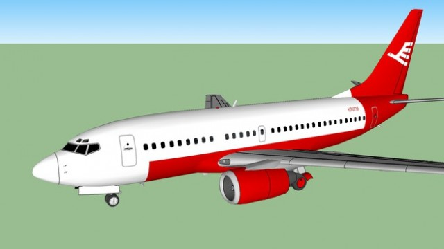 Decknar Airlines Boeing 737-5L7
