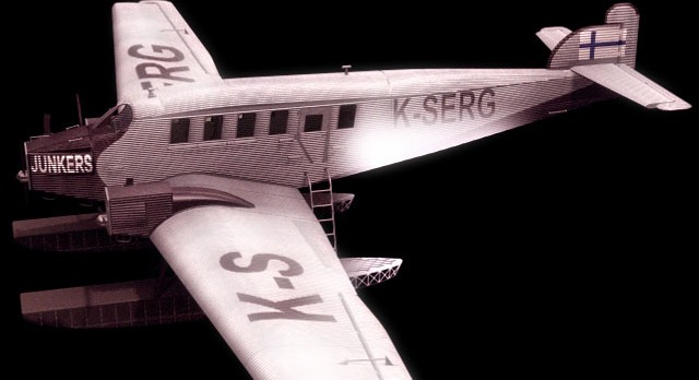 Junkers G 24 passenger aircraft 3d model