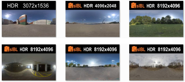 11 Free HDRI Environments from HDRI Hub