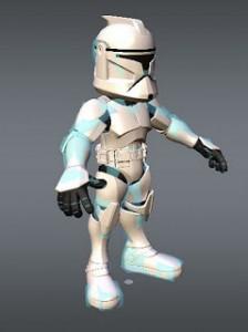 MiniTrooper Rigged 3ds Max