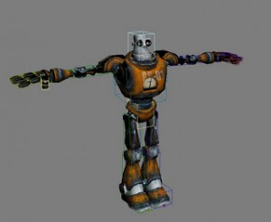 Robo Bs Rigged 3ds Max