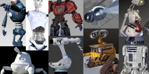 55 Free Ultimate 3D Rigged Robot Models