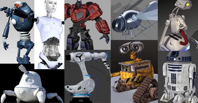 про роботов картинки