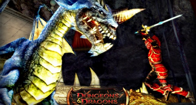 Dungeons & Dragons Online screenshot Blue Dragon