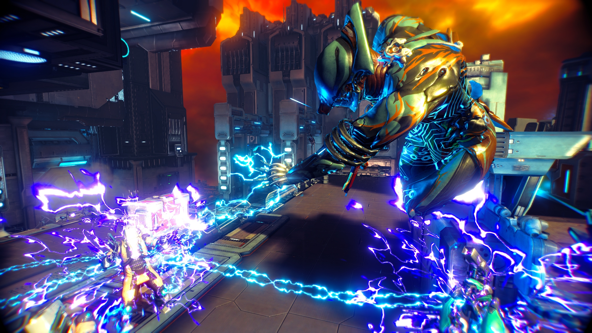 Shock and Awe Warframe screenshot